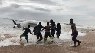 Live updates: Cargo plane crashes into sea off Abidjan, Ivory Coast