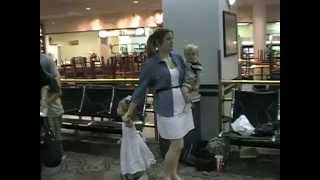 Soldier Surprises Daughter At Airport
