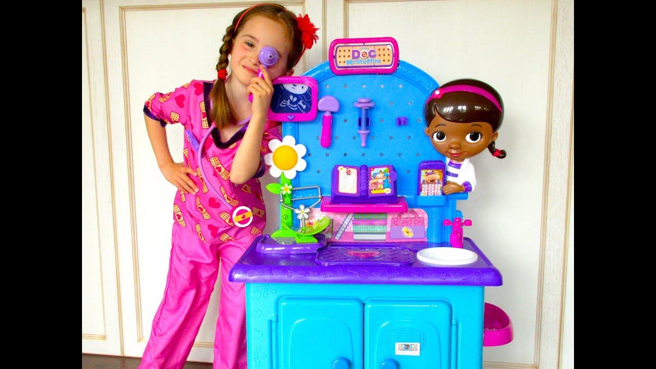 Doc Mcstuffins Toys : Doc mcstuffins toys 🎀 play pet vet check up center