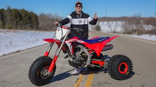 The New CRF 450 Three Wheeler (Worth $14,000?)