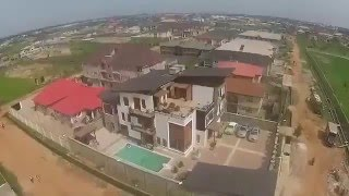 Actor Kunle Afolayan Shares Video of His Newly Completed House