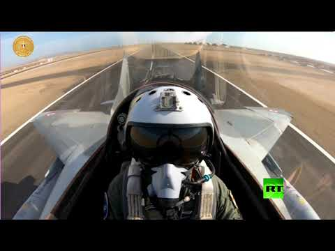 المقاتلات المصرية تظهر تقنية جديدة  - 17:59-2020 / 1 / 16