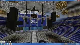 WWE WrestleMania 25 In Minecraft!