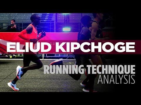 Running Technique Analysis: Eliud Kipchoge