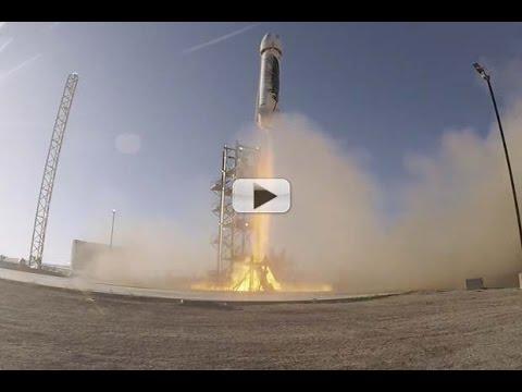 Blast Off! Blue Origin