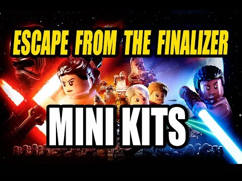 LEGO Star Wars The Force Awakens | Chapter 2 - Escape From The Finalizer | Mini Kit Locations