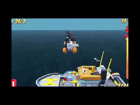 Trực thăng cứu hộ Lego, Máy bay cứu hộ Lego - Kid Game TV 【HD】