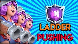 #1 - LADDER PUSH CLASH ROYALE