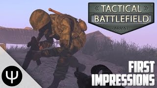 ARMA 3: Tactical Battlefield Mod — First Impressions!