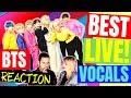 👀 BTS Reaction... BTS Best LIve Vocals - Popcrush - Vocal Coach Reaction BTS (방탄소년단)