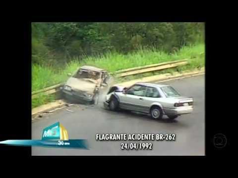 MGTV - O INCRÍVEL FLAGRANTE DE ACIDENTE EM MG