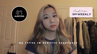 trying out sm entertainment online global audition - I GOT IN?!?? 😳 + tips on auditioning