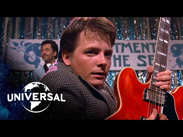 Back to the Future | Marty McFly Plays Johnny B. Goode