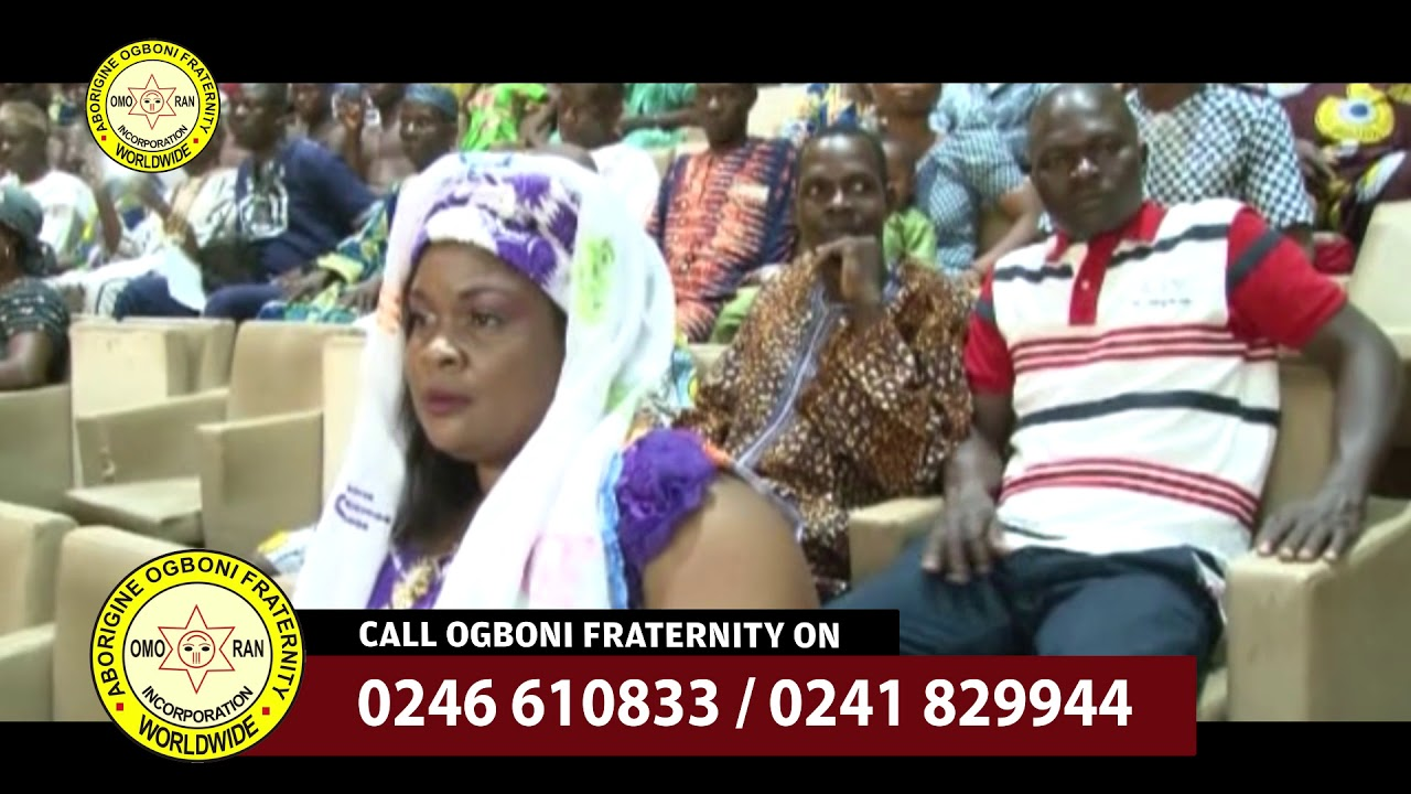 HOW TO JOIN OGBONI FRATERNITY IN GHANA
