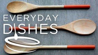 Diy Plastic-dipped Wooden Spoons