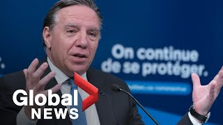 Coronavirus outbreak: Quebec headed in right direction though battle isn't over, Legault says   FULL