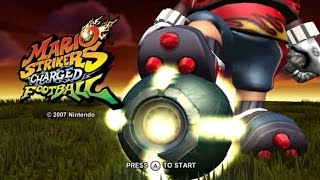 Mario Strikers Charged Wii Gameplay
