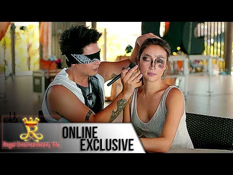 My 2 Mommies Exclusive: 'Blindfold Make up Challenge' with Solenn Heussaff and Paolo Ballesteros
