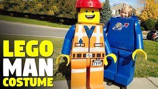 Lego Man Halloween Costume