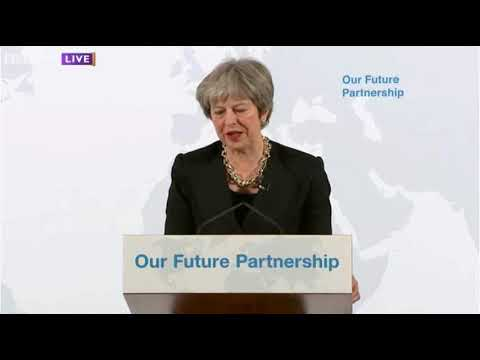 Theresa May's Brexit Speech