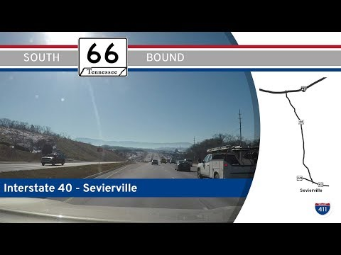 Tennessee Highway 66 - Interstate 40 to Sevierville |  Drive America's Highways 🚙