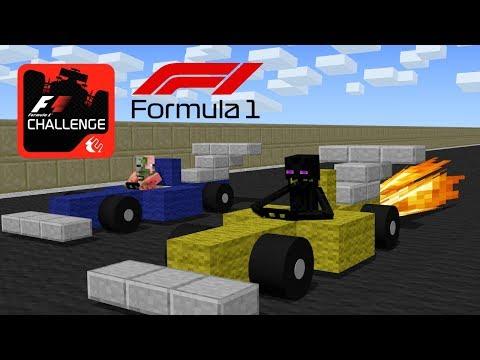 Monster School: Formula 1 Racing Challenge - Minecraft Animation