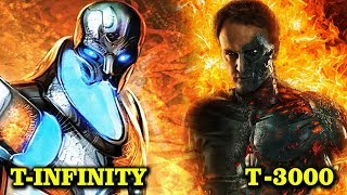 T-INFINITY vs T-3000 TERMINATOR - WHO WOULD WIN?