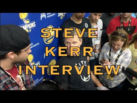 """Entire KERR interview: """"our guys have rings"""", facing Rockets on the road, D'Antoni, CP3/Draymond"""