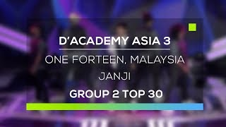 Video D'Academy Asia 3 : One Forteen, Malaysia - Janji download MP3, 3GP, MP4, WEBM, AVI, FLV Juli 2018