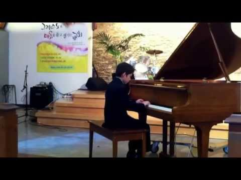 Piano Recital from Prime school of music. Horse-drawn carriage and Aria by Diego Alfaro