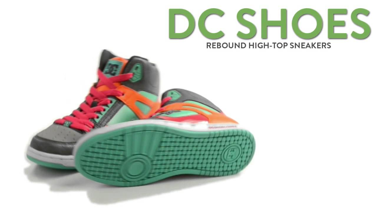 dc shoes high tops for a woman. dc shoes rebound high-top sneakers (for women) dc high tops for a woman