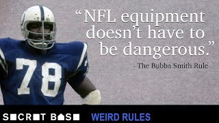 How Bubba Smith's freak knee injury forced the NFL to change its rules | Weird Rules