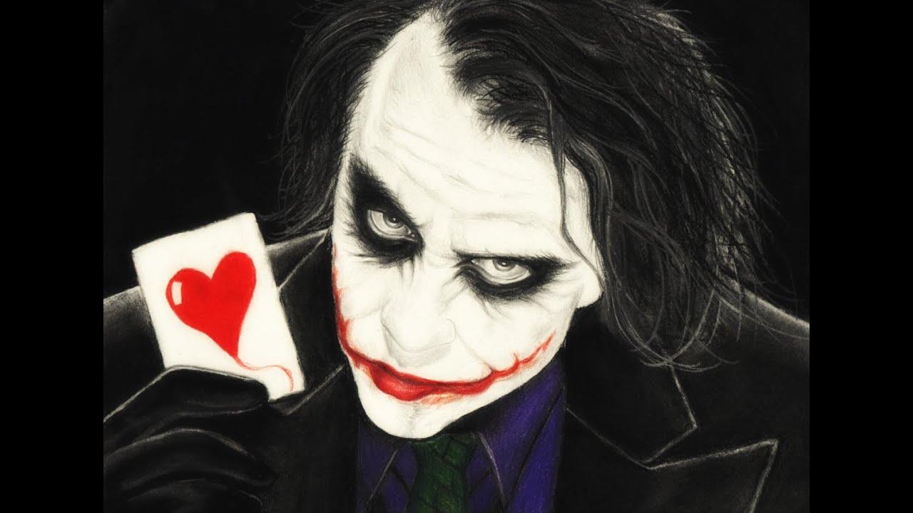Drawing The Joker - YouTube