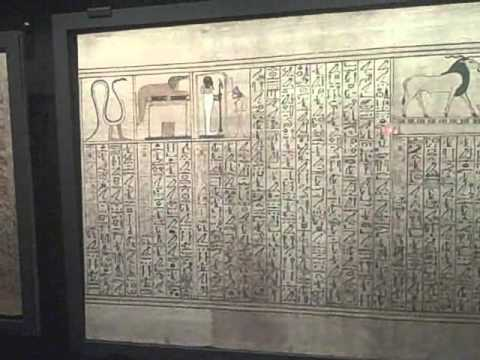 Spells and magic at the British Museum's Ancient Egyptian Book of the Dead