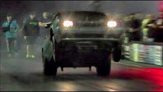 Dragnfly turbo Mustang taking flight at Doomsday No Prep!!