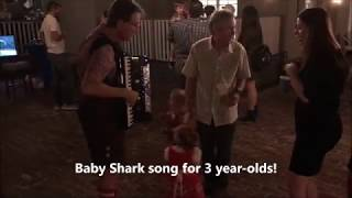 Roland FR-8x accordion, Baby Shark (song for your 3 Year-Old)