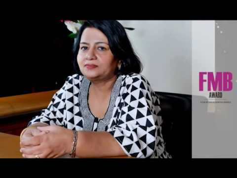 Elizabeth Chacko  Won Women Excellence Award in Beauty & Wellness in Unique Times FMB Award