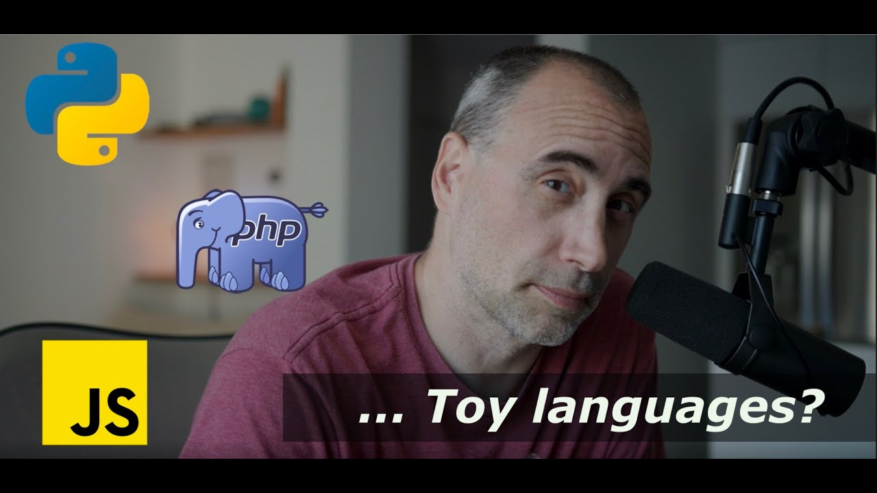 Python, JavaScript, PHP ... are they Toy Languages?