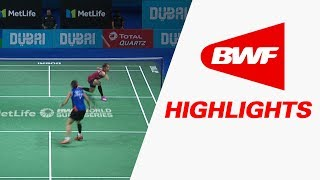 Dubai World Superseries Finals 2017 | Badminton Day 2 – Highlights