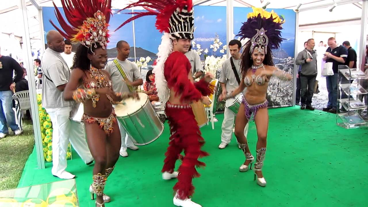 smoking hot ! uber sexy almost nude brazilian samba dancers at