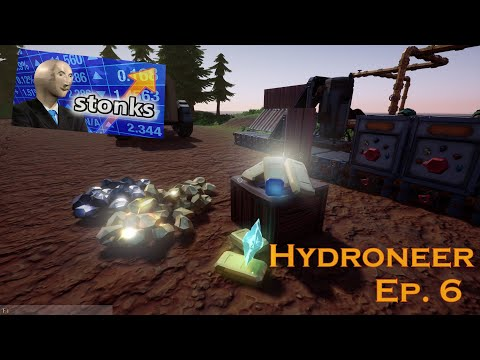 MOUNTAINS of BIG OL' $100.000 ULTIMATE STONKS GOLD Nuggets, Huge SHARDS Huge GEMS   Hydroneer Ep. 06 from YouTube · Duration:  53 minutes 45 seconds