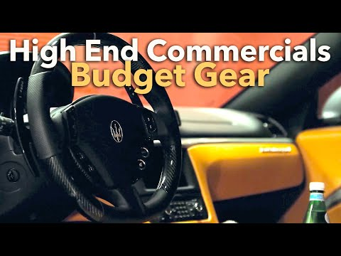 How To Film Commercials W/ BUGET Camera Gear - Creator Insider