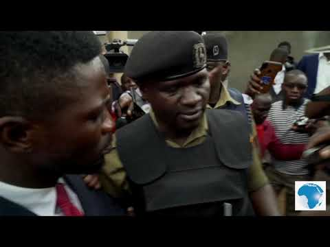 Bobi Wine under house arrest, police ambush him as he tries to leave house