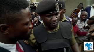 Bobi Wine under house arrest, police ambush him as he tries to leave house