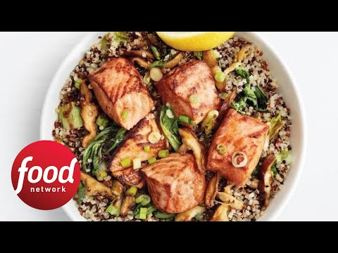 Teriyaki Salmon Quinoa Bowls   Food Network