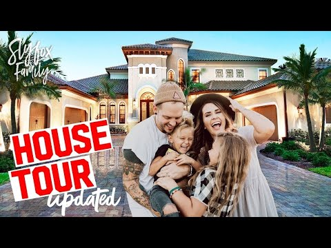 2017 Updated HOUSE REMODEL TOUR!! Slyfox Family