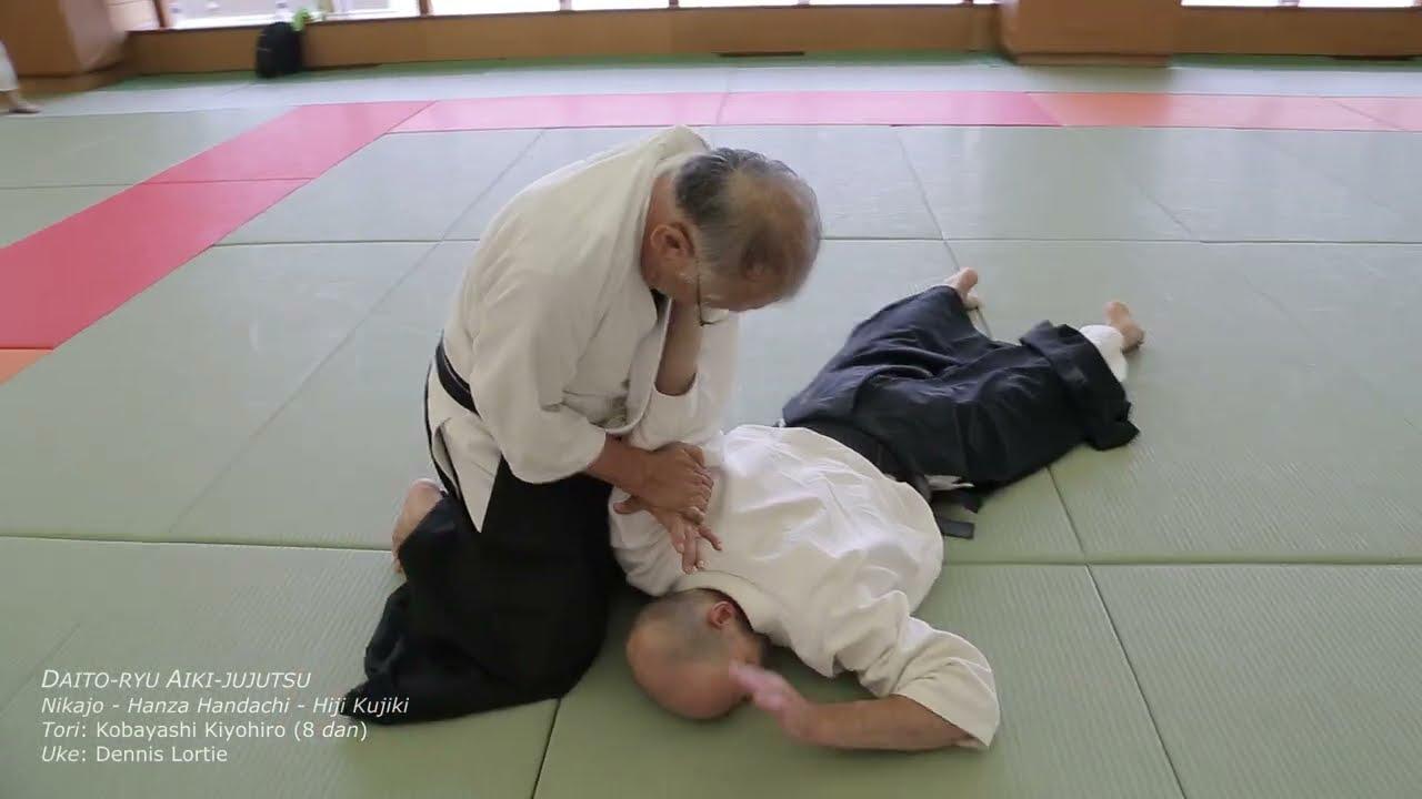 [DAITO-RYU] Nikajo - Hanza Handachi - Hiji Kujiki