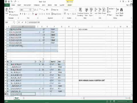 STRUKTUR DATA SORTING BUBBLE SORT,INSERTION SORT By Saputra Dwi Hasta