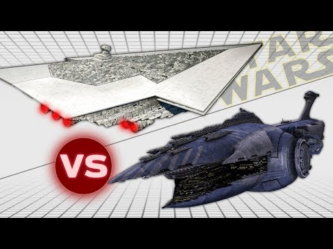 Executor Super Star Destroyer vs Malevolence (Subjugator Heavy Cruiser) | Star Wars: Who Would Win