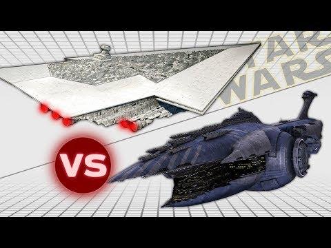 Executor Super Star Destroyer vs Malevolence (Subjugator Heavy Cruiser) | Star Wars: Who Would Win